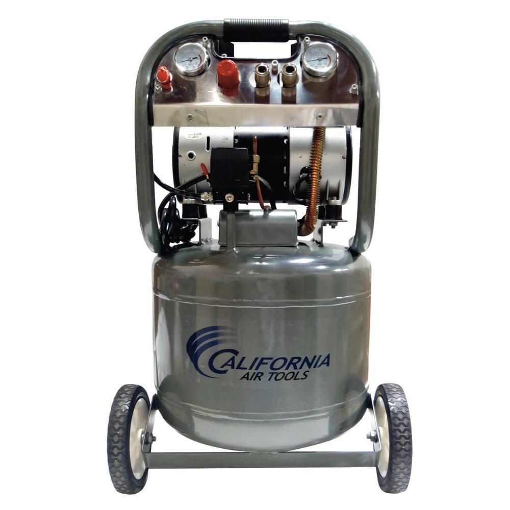 California Air Tools 10 gal. 2 HP 220-Volt 60 Hz Ultra Quiet and Oil-Free Air Compressor