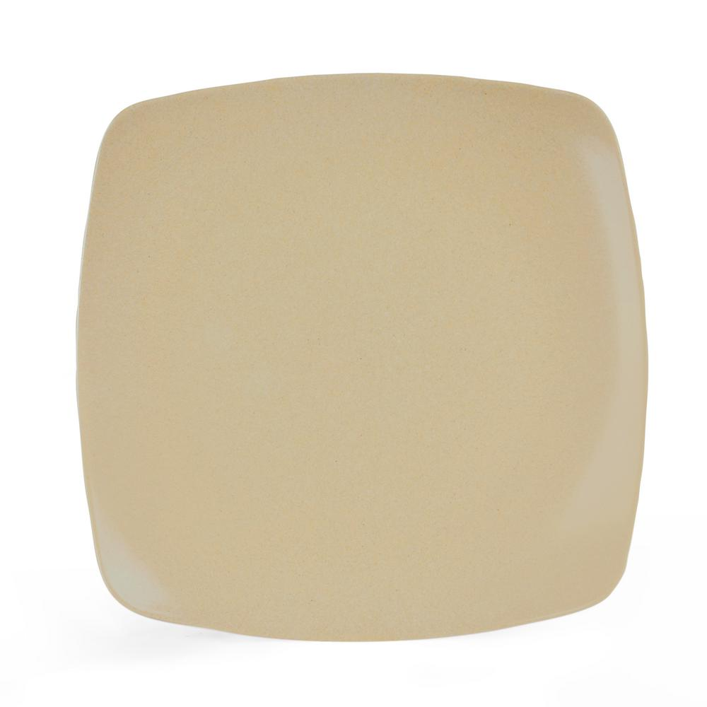 Husk Natural Large Square Plate (2-Pack)