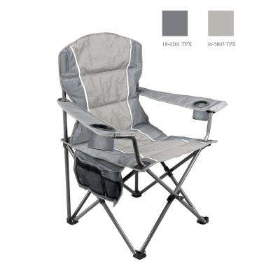 Gray Oversize Folding Chair