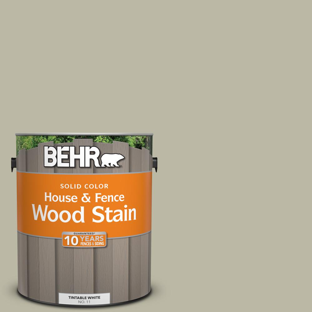 Behr 1 Gal 400f 4 Restful Solid Color House And Fence Exterior