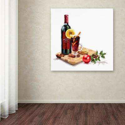 """14 in. x 14 in. """"Mulled Wine"""" by The Macneil Studio Printed Canvas Wall Art"""