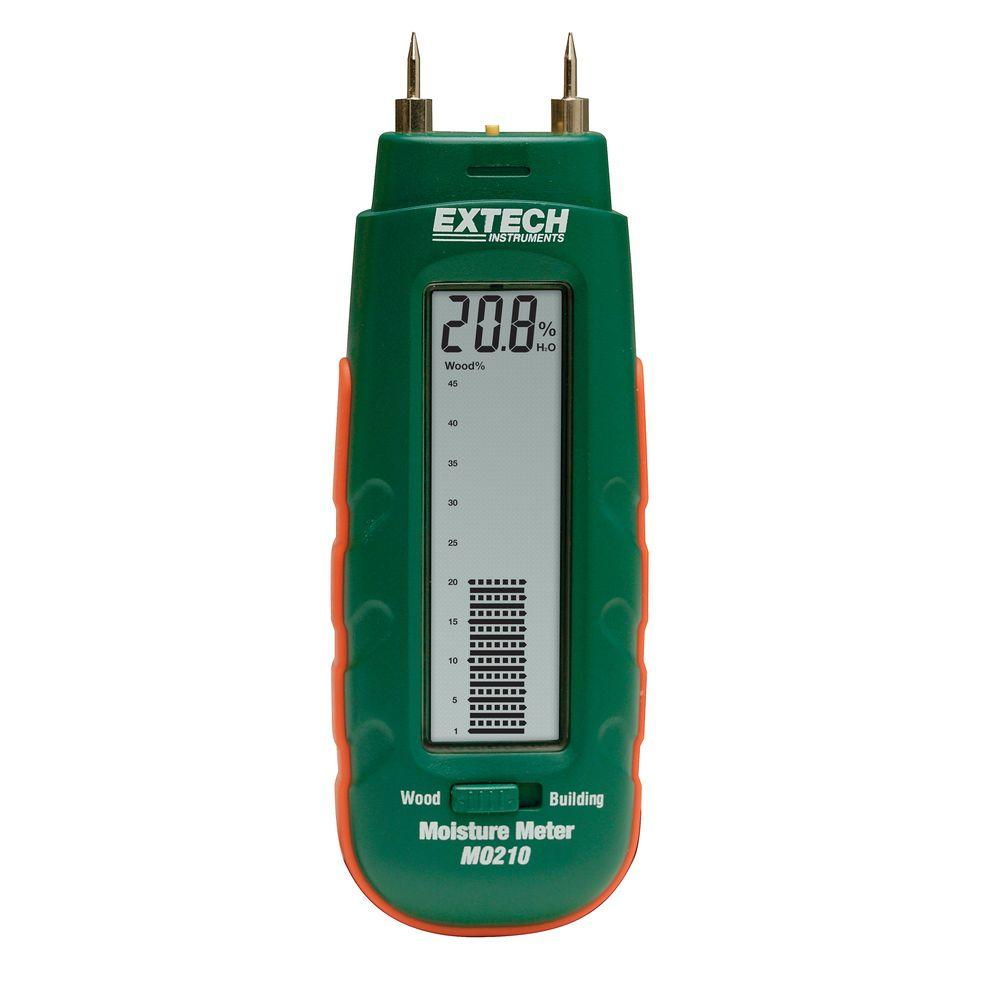 Extech Instruments Wood/Building Material Pocket Moisture Meter