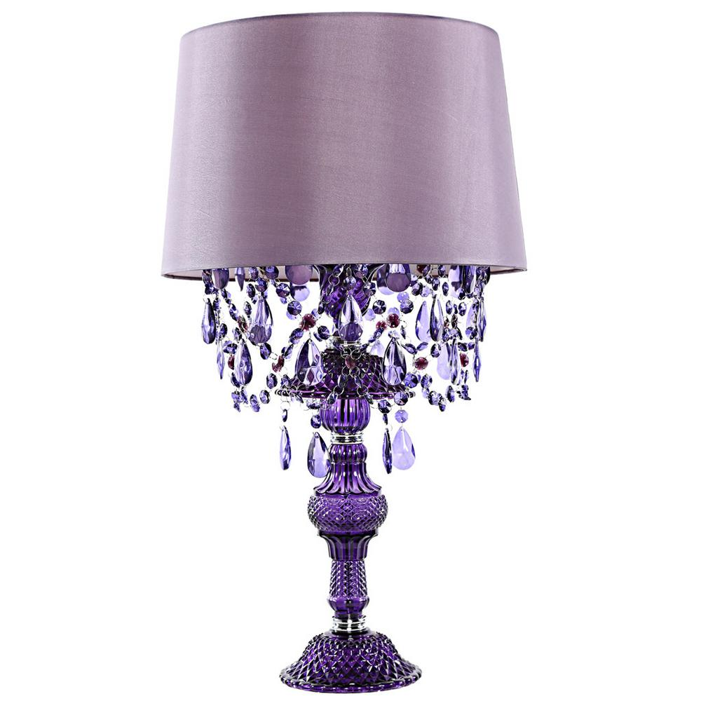 River of goods poetic wanderlust by tracy porter 26 in purple table lamp with alisal