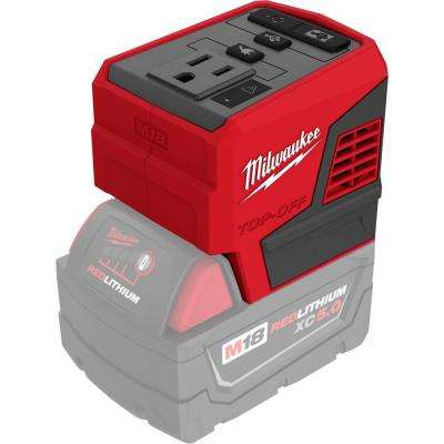 M18 18-Volt Lithium-Ion 175-Watt Powered Compact Inverter for M18 Batteries (Tool-Only)