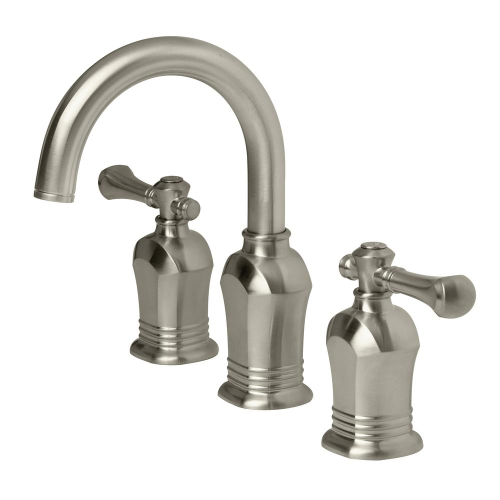 Pegasus Verdanza 8 in. Widespread 2-Handle High-Arc Bathroom Faucet ...