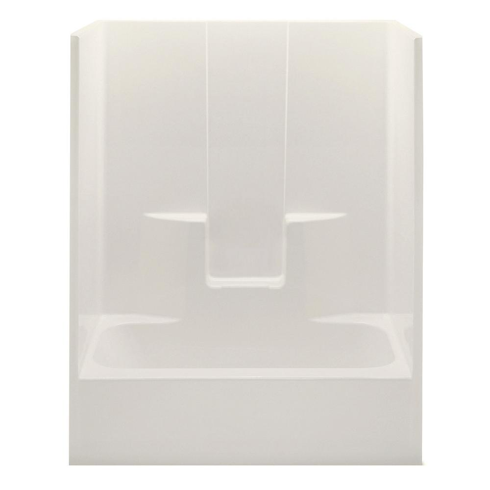 Everyday 60 in. x 32 in. x 74 in. 1-Piece Bath