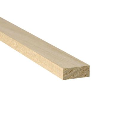 1 in. x 2 in. x 8 ft. Spruce/Pine/Fir Common Board (Actual Dimensions: 0.70 in. x 1.45 in. x 96 in.)