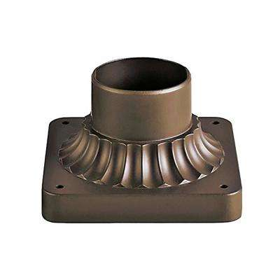 Canby 5.5 in. Bronze Outdoor Post Base Mount Base