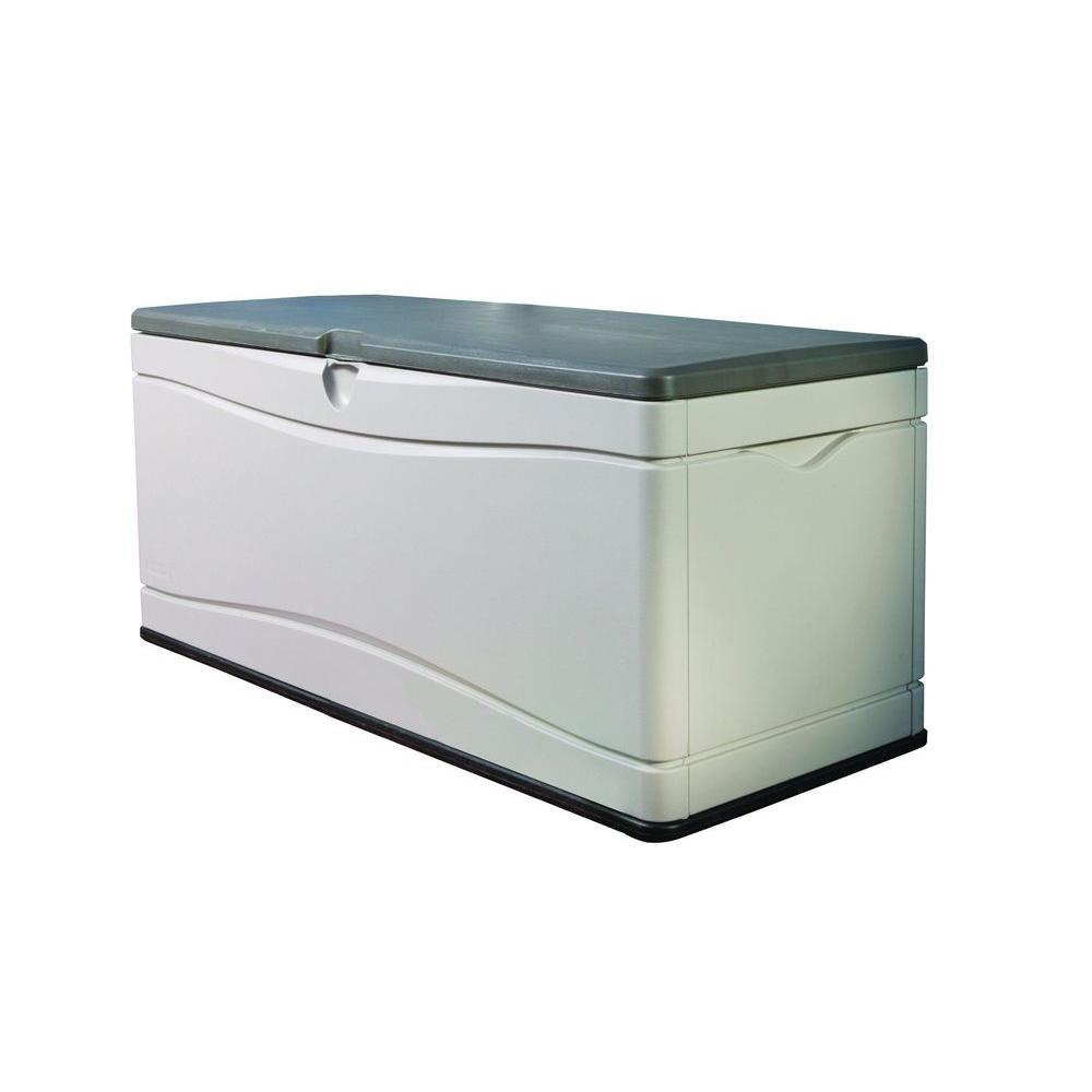 Polyethylene Outdoor Deck Box  sc 1 st  The Home Depot & Deck Boxes - Sheds Garages u0026 Outdoor Storage - The Home Depot