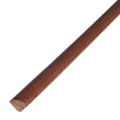 Saddle 3/4 in. Thick x 3/4 in. Wide x 78 in. Length Engineered Hardwood Quarter Round Molding