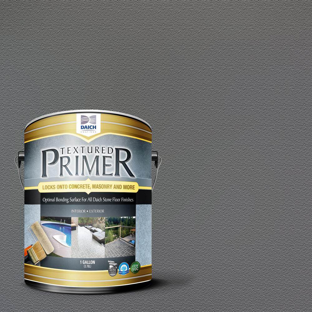 DAICH Textured 1 gal. Charcoal Gray Interior Exterior Bonding Primer Penetrating Anti-Slip