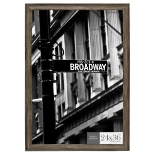 Pinnacle 24 inch x 36 inch Graywash Poster Picture Frame by Pinnacle