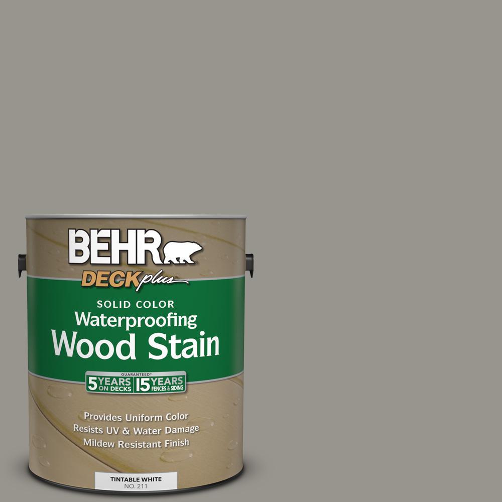 #N360 4 Battleship Gray Solid Color Waterproofing Wood Stain