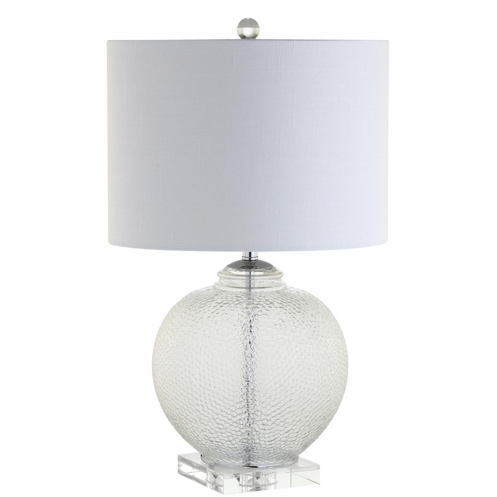 Avery 24 in clear glasscrystal table lamp jyl2024a the home depot clear glasscrystal table lamp aloadofball Choice Image