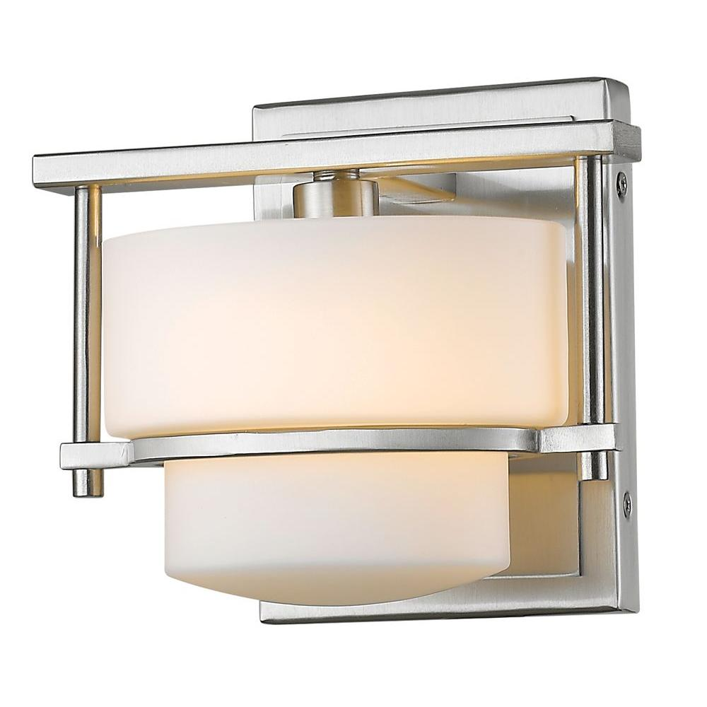 Christen 1-Light Brushed Nickel Sconce