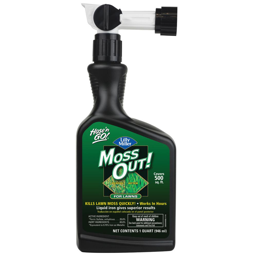 Moss Out! 32 oz. Hose'n Go Moss Out! for Lawns