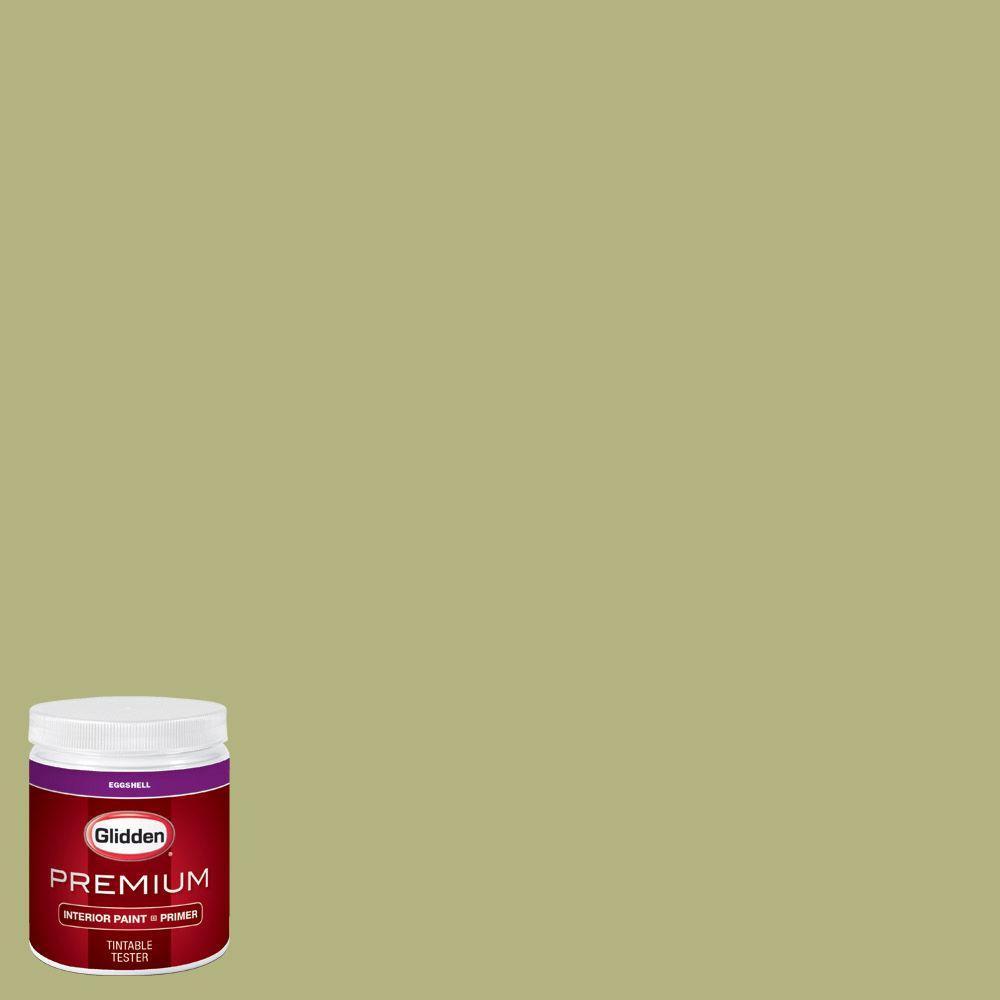 Glidden Premium 8 Oz Hdgg21u Spring Bud Green Eggshell