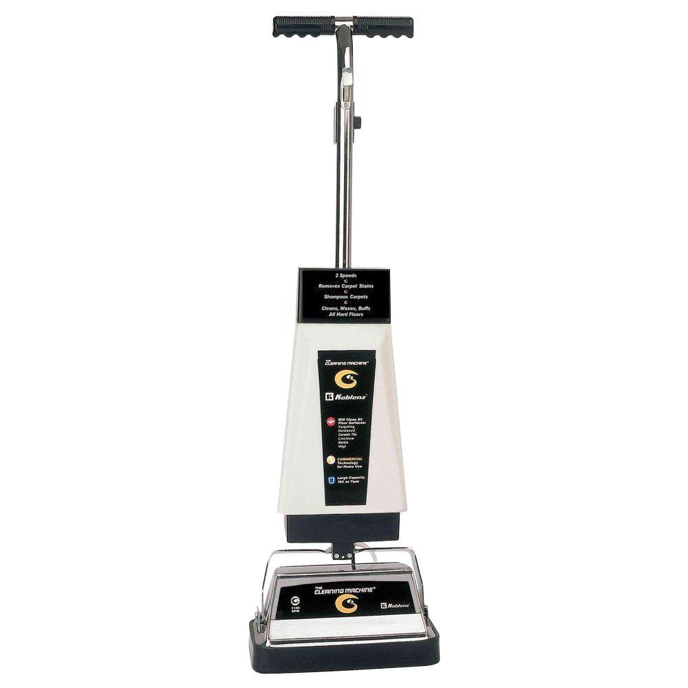 Rotary Hard Floor Upright Carpet Cleaner that Scrubs and Polishes Floors