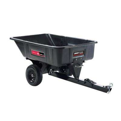 10 cu. ft. Heaped 600 lb. Poly Swivel 180° Full-Dump Cart