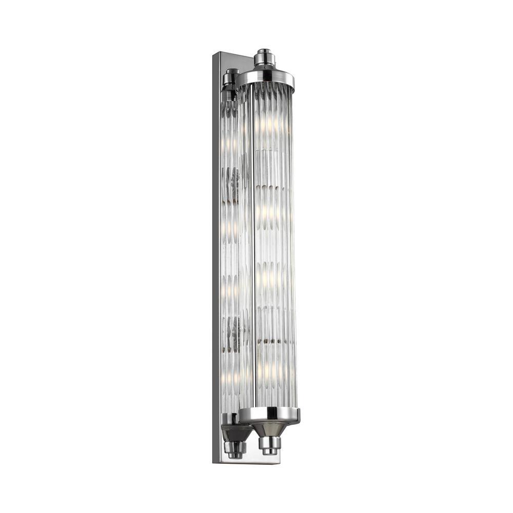 Paulson 4-Light Chrome Bath Light