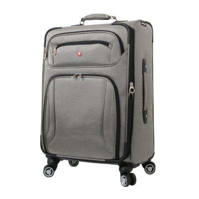 Zurich 24 in. Pewter Spinner Suitcase