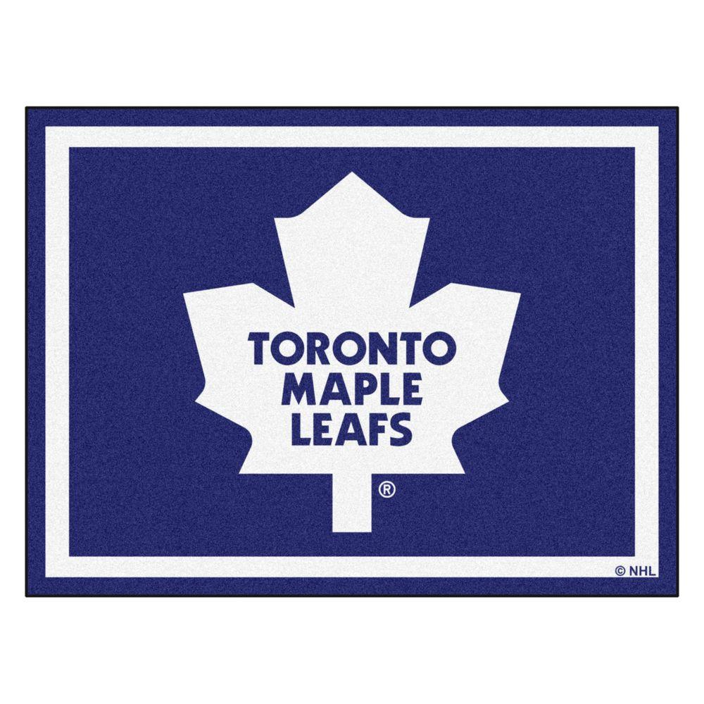 Fanmats Nhl Toronto Maple Leafs Navy Blue 8 Ft X 10 Ft