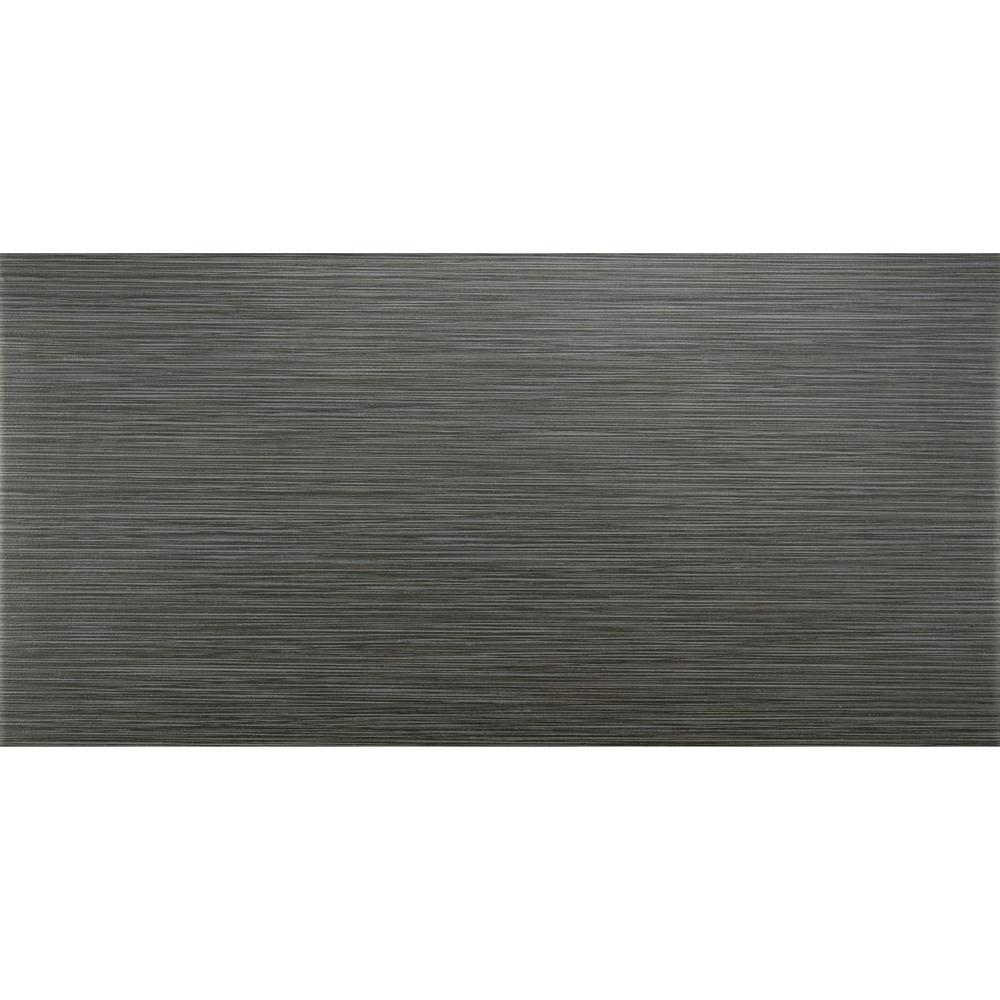 MSI Metro Gris 12 in. x 24 in. Glazed Porcelain Floor and Wall Tile (16 sq. ft./case)