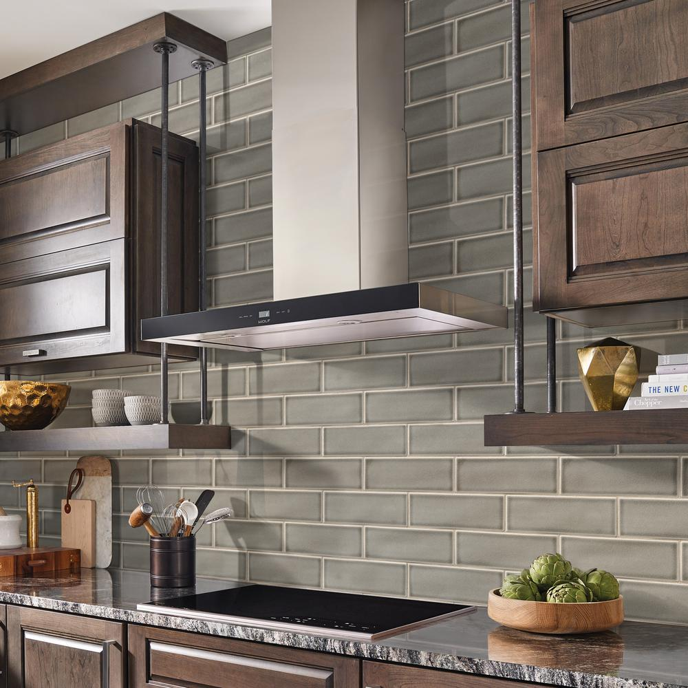 - MSI Dove Gray Handcrafted 4 In. X 12 In. Glossy Ceramic Wall Tile