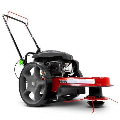 Gas Walk Behind 22 in  Wide String Trimmer Mower with Viper Engine