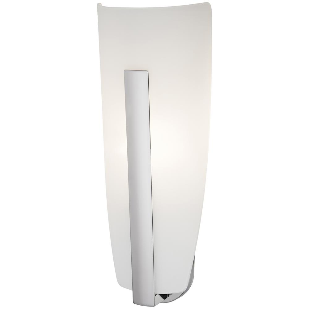 George kovacs sconces lighting the home depot 1 light chrome wall sconce amipublicfo Choice Image