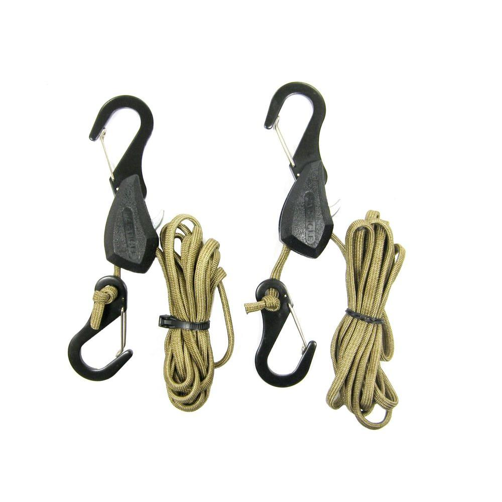 Usa products group 100 lb 6 ft particle rope lock tie down 2 per particle rope lock tie down ccuart Images