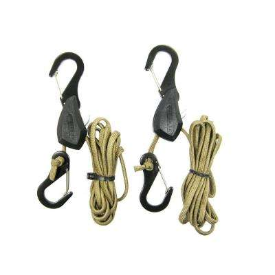 100 lb. 6 ft. Particle Rope Lock Tie-Down (2 per Pack)