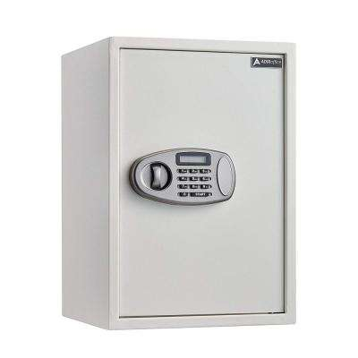2.32 cu. ft. Steel Security Safe with Digital Lock, White
