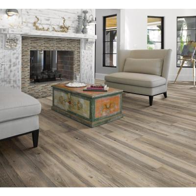 New Liberty 6 mil Leather 6 in. x 48 in. Glue Down Vinyl Plank Flooring (53.93 sq. ft./case)