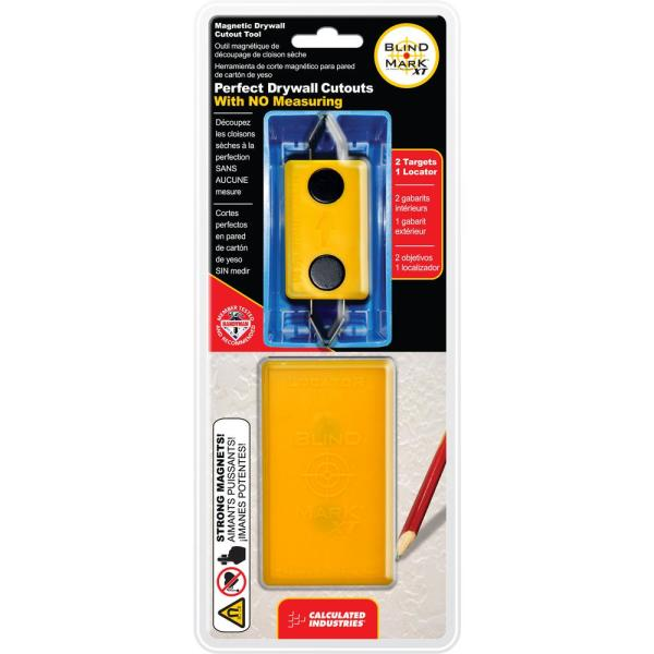 Blind Mark Magnetic Drywall Electrical Box Locating Tool (3-Piece)