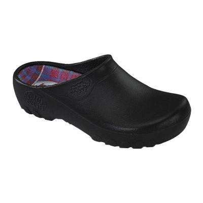 Men's Black Garden Clogs - Size 10