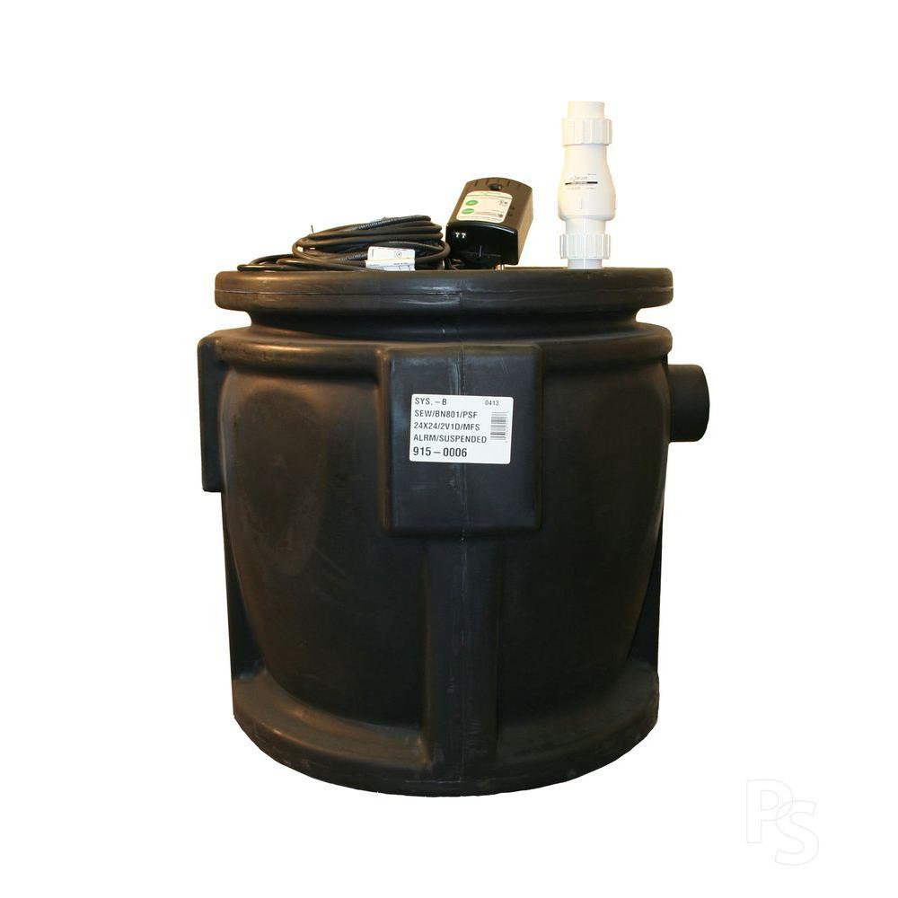 Zoeller Shark Grinder 915-0006 .5 HP Pump-DISCONTINUED