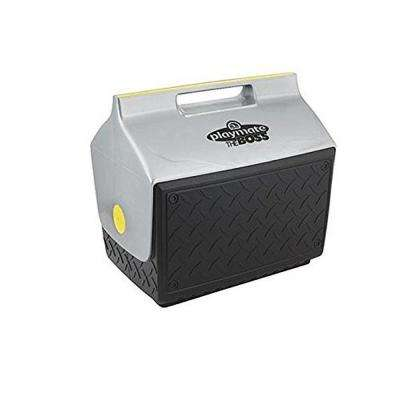 Playmate 14.8 Qt. Cooler with Industrial Diamond Plate
