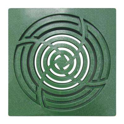6 in. Square Green Grate