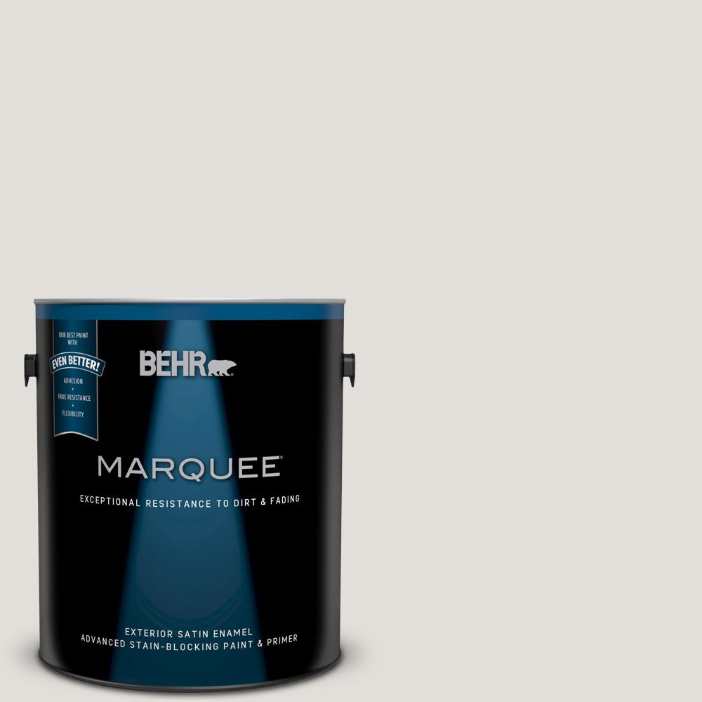 BEHR MARQUEE 1-gal. #BWC-21 Poetic Light Satin Enamel Exterior Paint