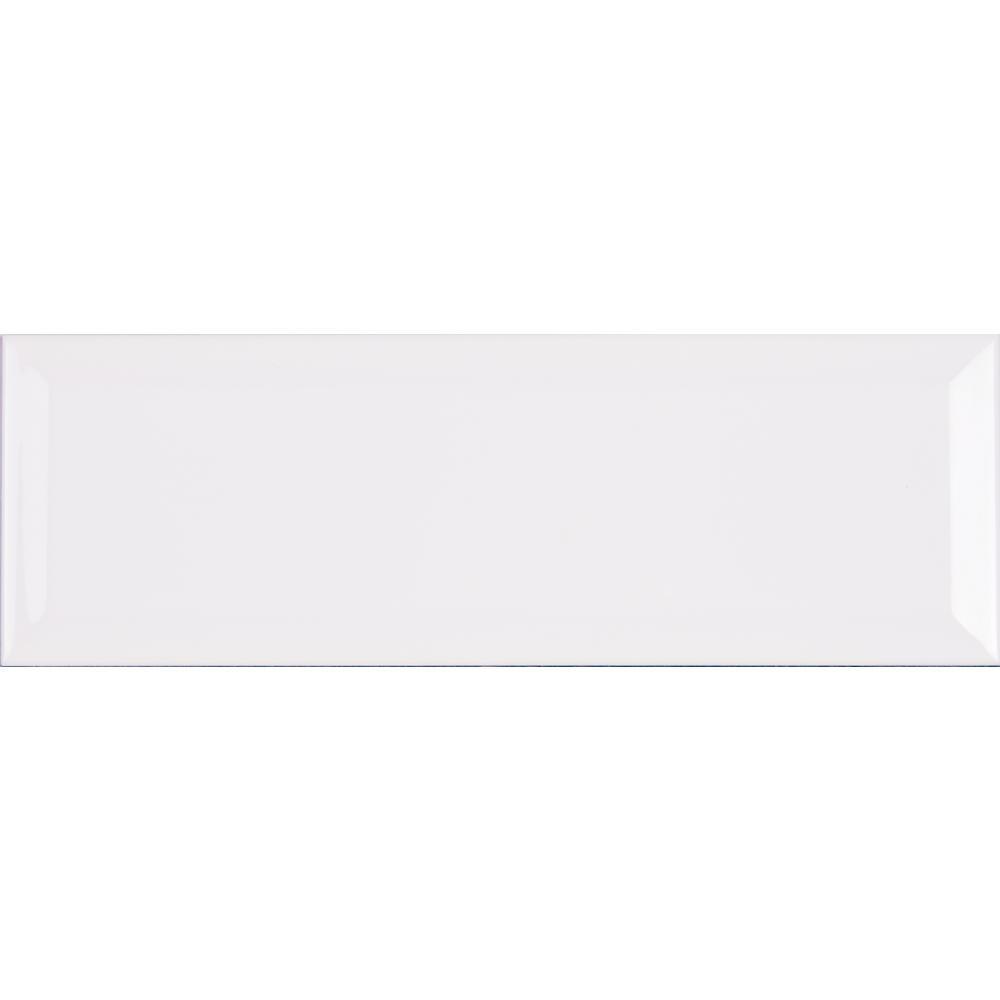 Msi White Glossy 4 In X 16 In Glazed Ceramic Wall Tile Nhdwhi4x16