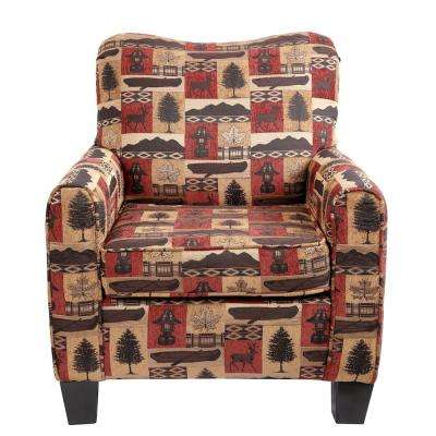 Caliber Hunting Multi Color Camp Club Chair