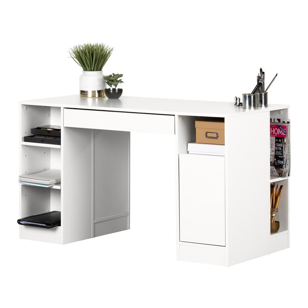 Crea Desk in Pure White