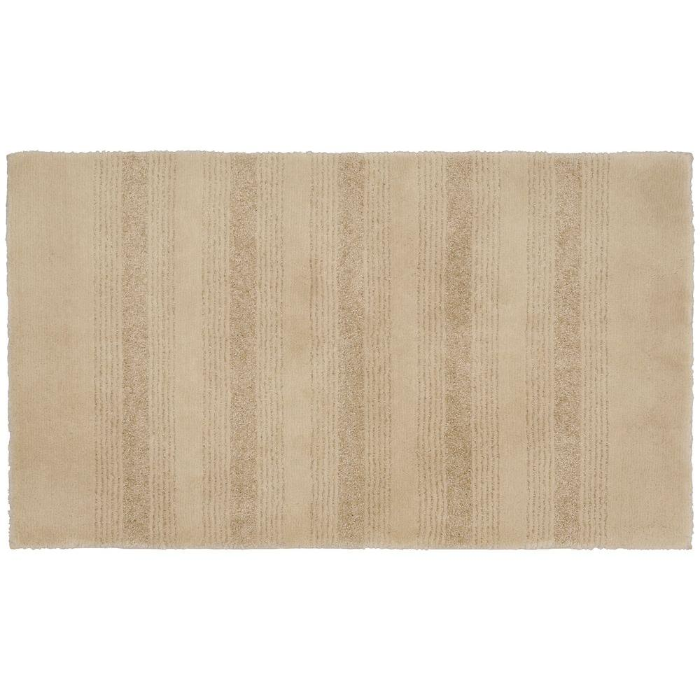 Garland Rug Essence Linen 24 In X 40 In Washable Bathroom Accent Rug Shop Your Way Online
