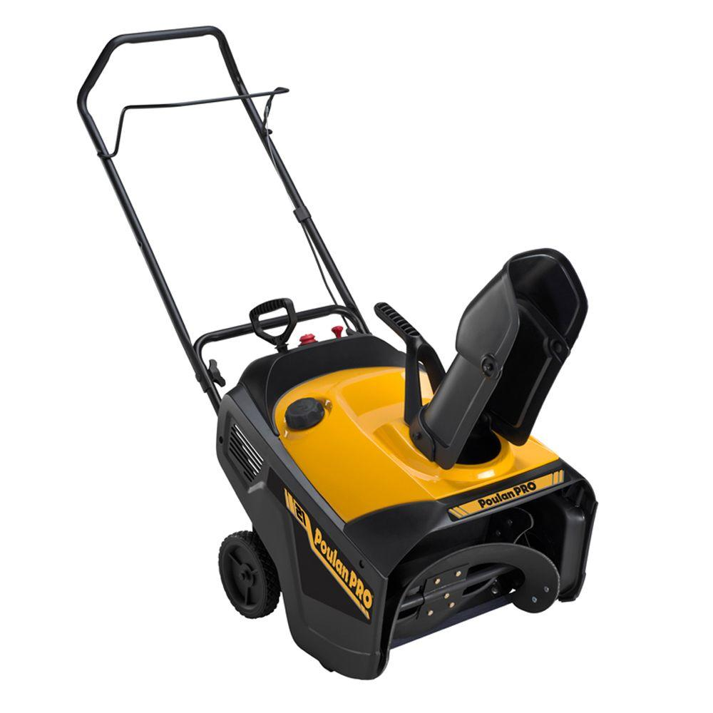 Poulan PRO 21 in. Single-Stage Electric Start Gas Snow Blower-DISCONTINUED