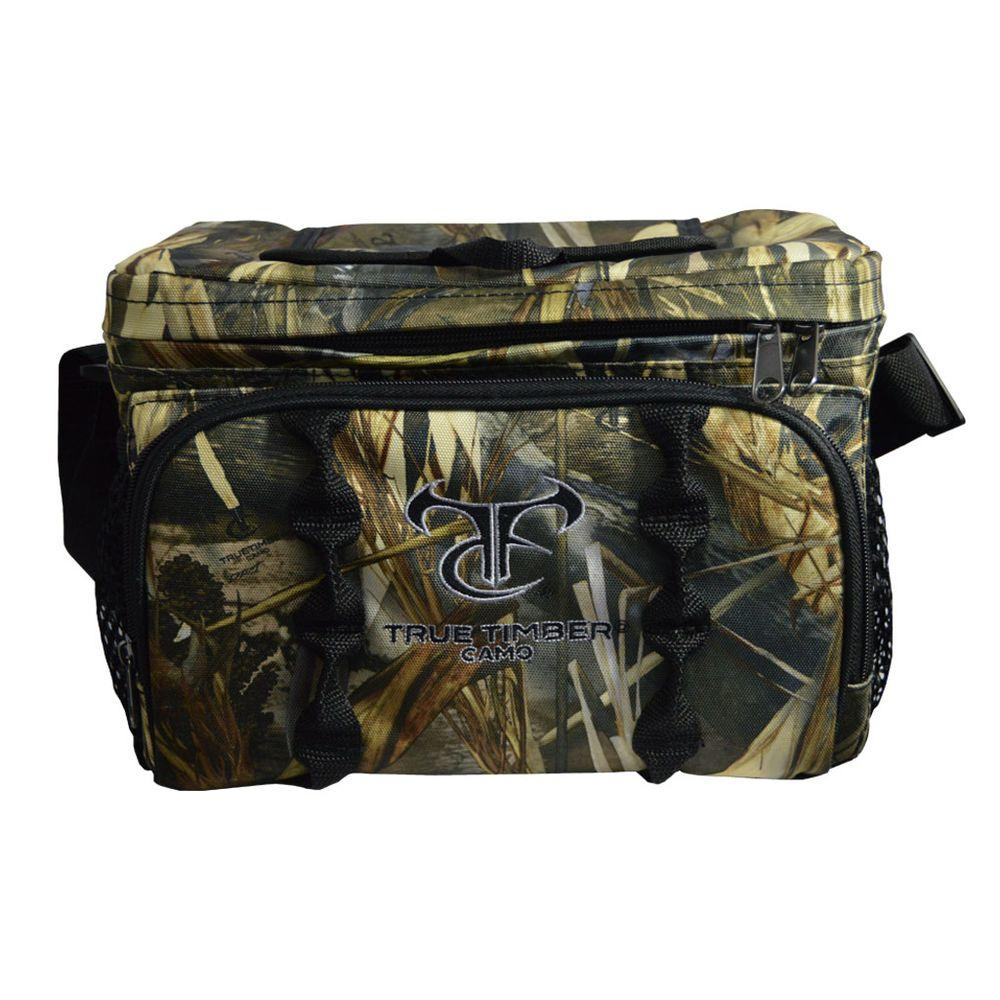 truetimber camo 12 can cooler lunch box in drt camo with logo 860