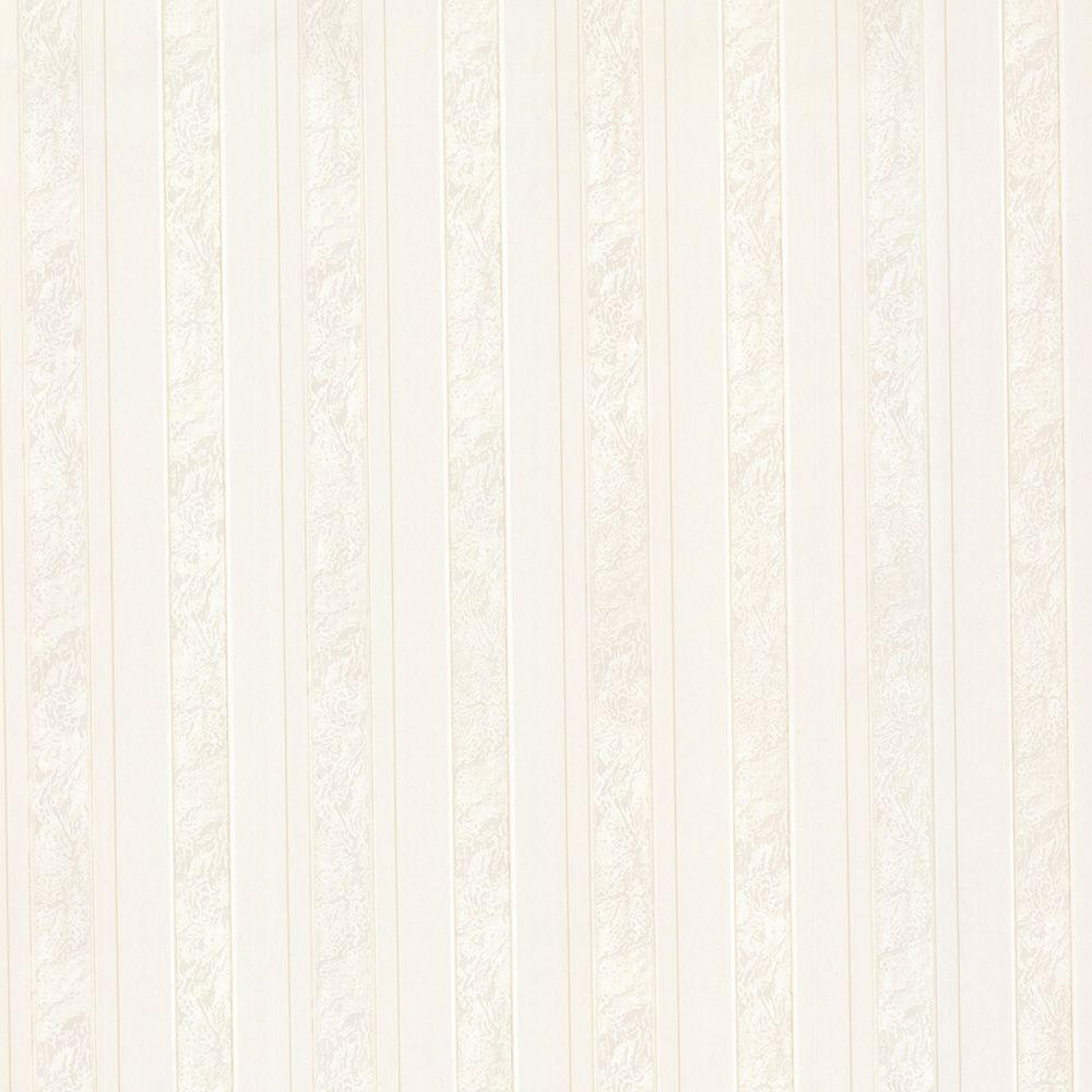 Opal Cream Marble Stripe Wallpaper