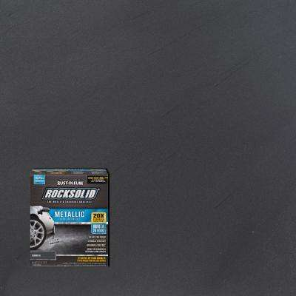 70 oz. Gunmetal Metallic Garage Floor Kit (2-Pack)