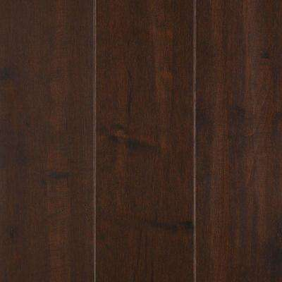 Take Home Sample - Yorkville Dark Chocolate Maple Solid Hardwood Flooring - 5 in. x 7 in.