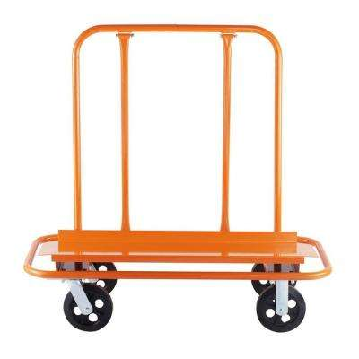 53 in. x 7 in. x 25 in. Drywall Cart